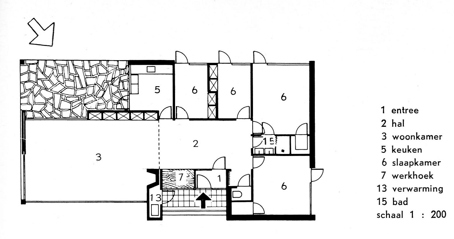 Wat is een bungalow de bungalow - Eigentijds rechthoek huis ...