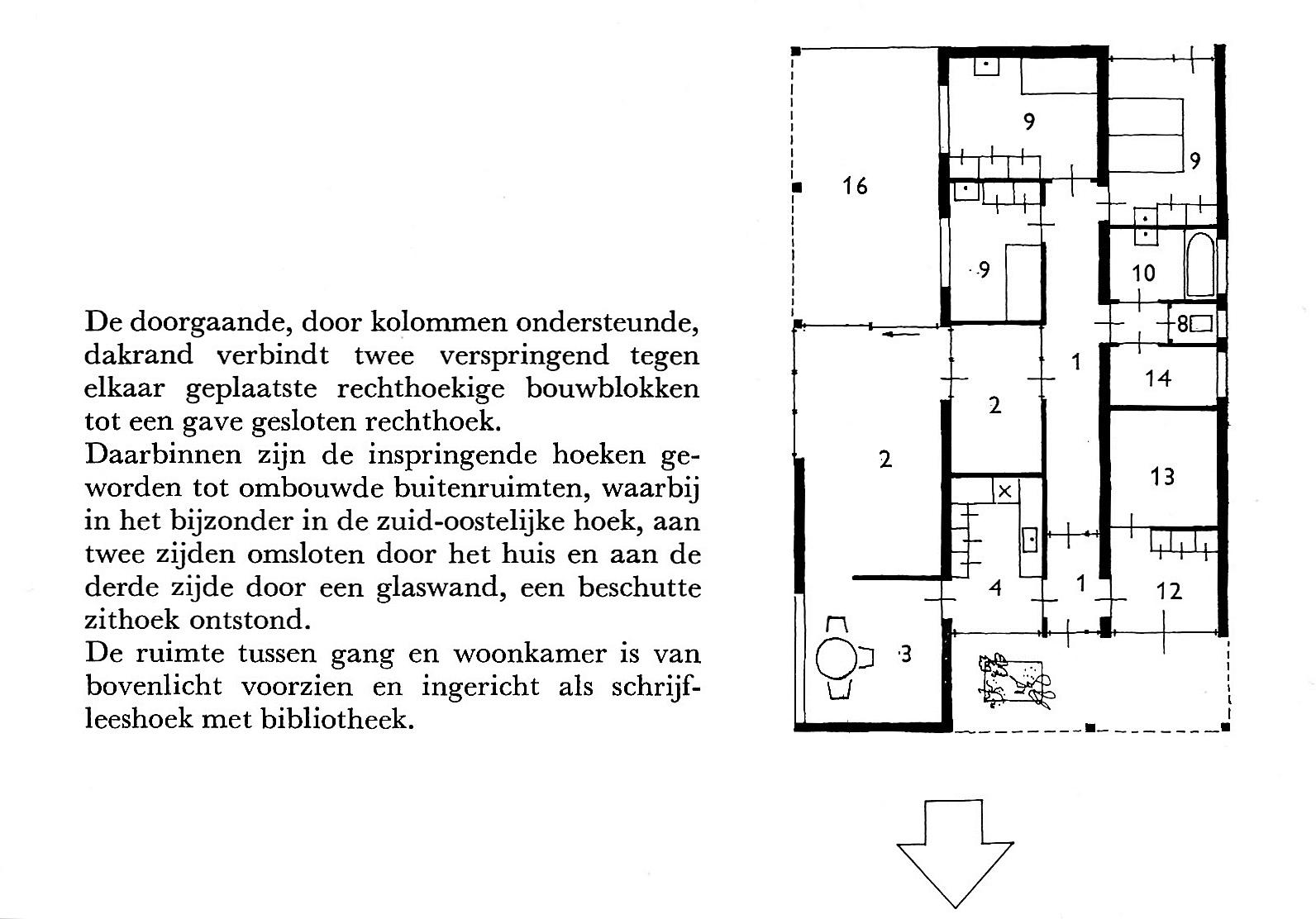 Veendam, Julianapark, M. Duintjer, 1956-1957