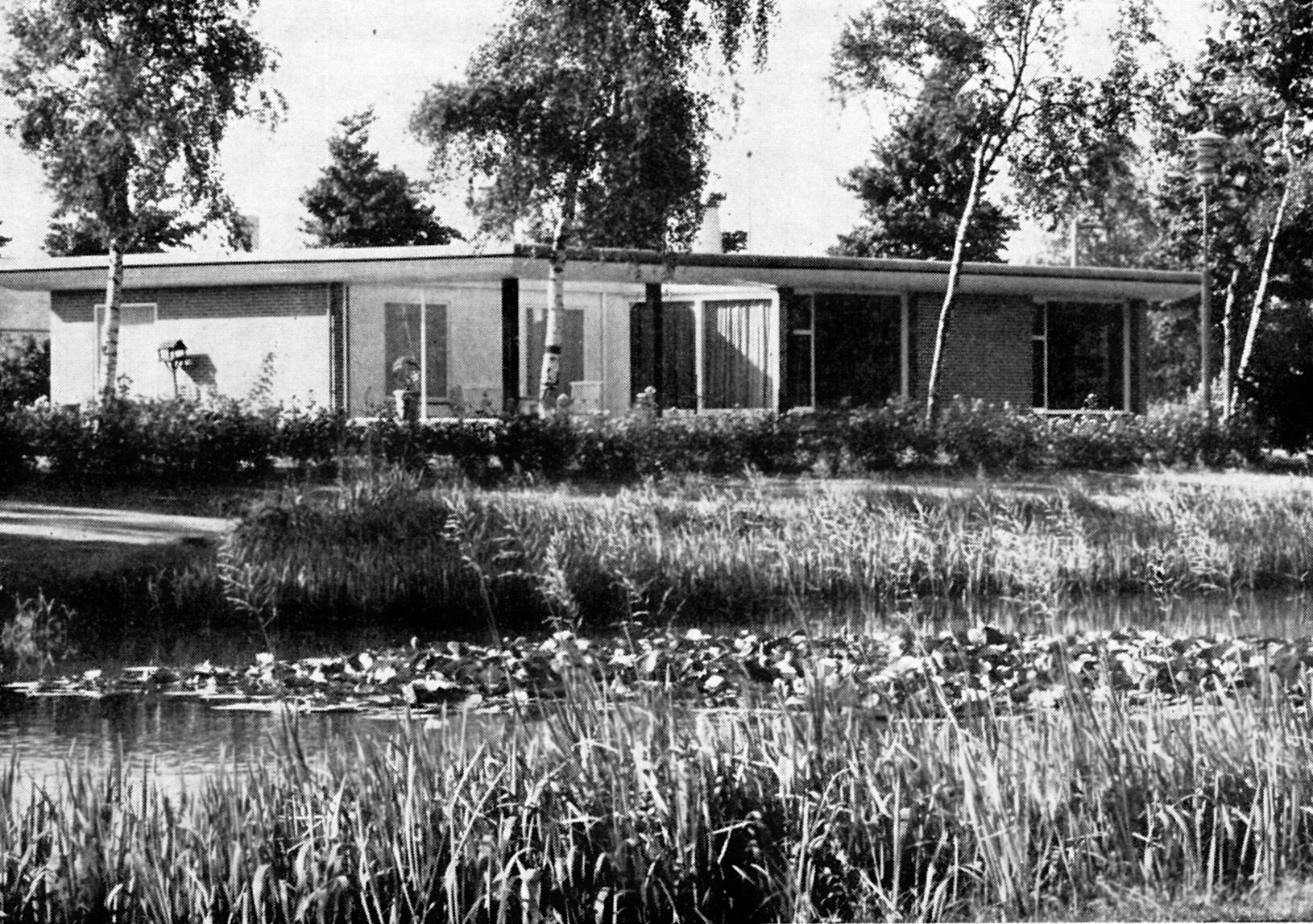 Veendam, Julianapark, M. Duintjer, bj.1956-1957_0002