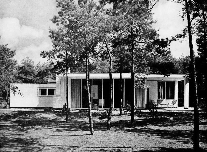 Woonhuis Klaassen (bungalow), Den Dolder, G. Rietveld, ca.1953
