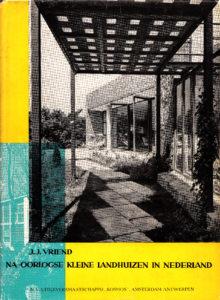 Vriend, Naoorlogse kleine landhuizen, 1956